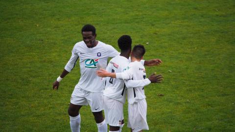 Romain Essogo, the offensive solar of Paotred Dispount – ergue-gaberic – soccer