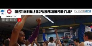 L'Ujap Quimper se hisse jusqu'en finale des playoffs N1M.