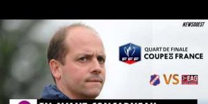 Coupe de France : USC - EAG Interview de Nicolas Cloarec