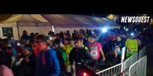 986 participants au départ du Kemper Urban Noz Trail