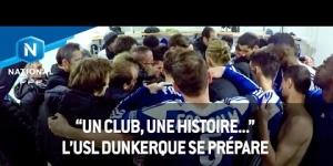 L'USL Dunkerque se prépare