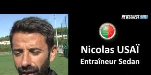 Sesan - Concarneau : La réaction de Nicolas Usaï