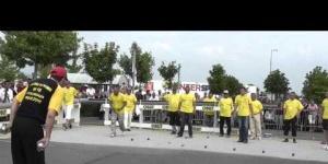 Pétanque : 1.000 boules dans l'heure à Dreux avec Christian Fazzino