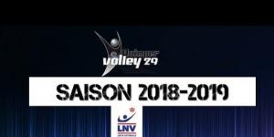 Quimper Volley 29 : effectif de la saison 2018-2019