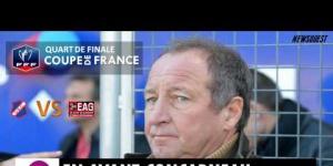 Coupe de France : USC - EAG Interview de Jacques PIRIOU