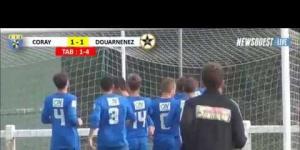 Coupe de France : Coray - Douarnenez : 1-1 (1-4 TAB)