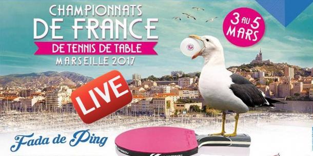 Live Championnat De France Tennis Table Autres Tennis Table