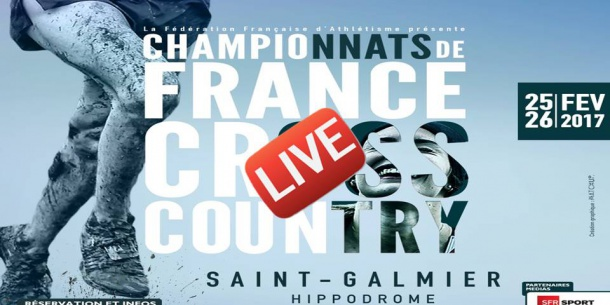 live   championnat de france de cross saint galmier