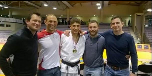 fabien le touze  champion de france cadet de judo