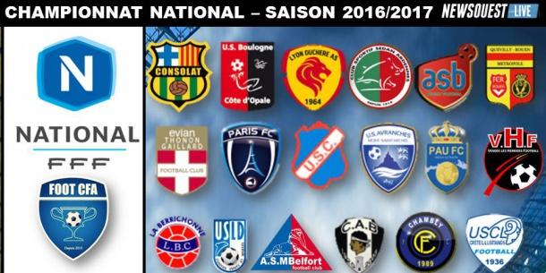 Très Découvrez le plus beau logo du National - autres - football  UQ61