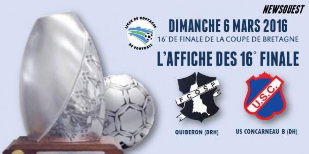 Le tirage des 16 me finale de la coupe de bretagne senior - Tirage des 16eme de finale de la coupe de france ...