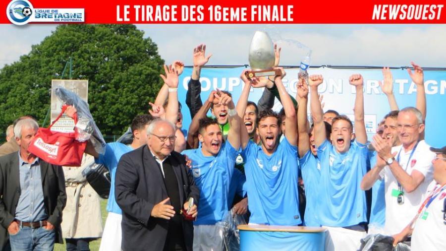 Le tirage des 16 me finale de la coupe de bretagne senior autres football - Tirage coupe de bretagne football ...