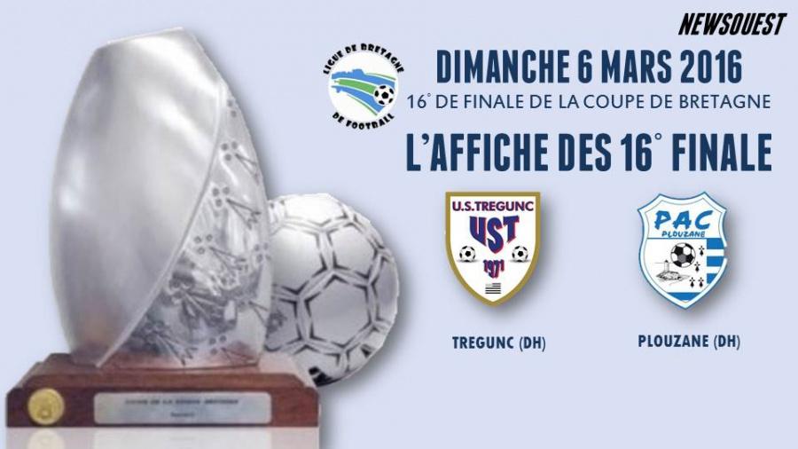Le tirage des 16 me finale de la coupe de bretagne senior autres football - Coupe de bretagne seniors ...